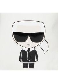 Biała torebka worek Karl Lagerfeld