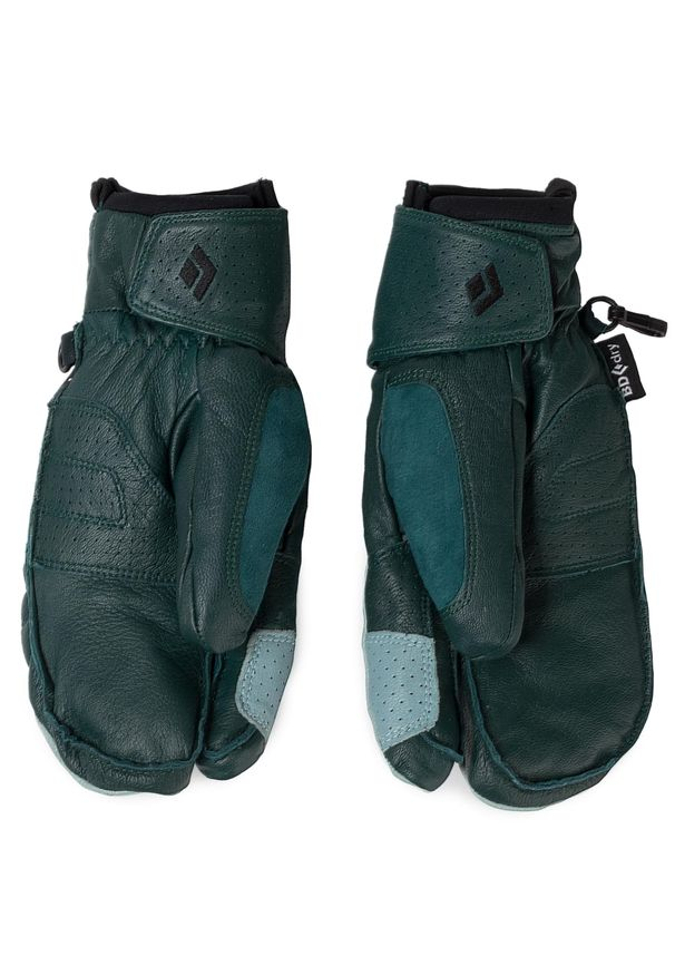 Zielone rękawiczki Black Diamond