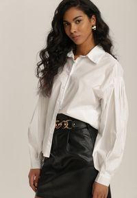 Renee - Biała Koszula Lilania. Kolor: biały