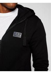 Czarny komplet dresowy EA7 Emporio Armani