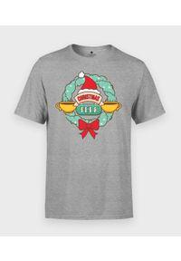 MegaKoszulki - Koszulka męska Christmas perk. Materiał: bawełna