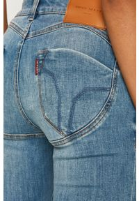 Niebieskie jeansy Miss Sixty