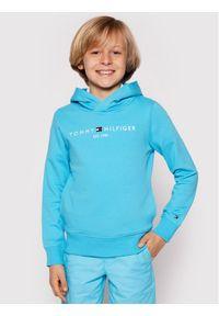TOMMY HILFIGER - Tommy Hilfiger Bluza Essential KB0KB05673 D Niebieski Regular Fit. Kolor: niebieski