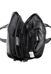 Czarna torba na laptopa MCKLEIN casualowa
