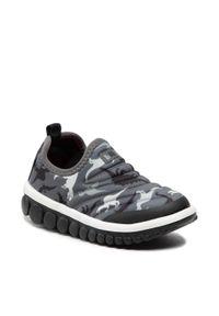 Bibi - Sneakersy BIBI - Roller 2.0 1155034 Blak/Print. Kolor: szary. Materiał: materiał. Wzór: nadruk