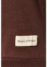 Brązowa bluza nierozpinana Marc O'Polo polo, casualowa