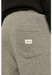 Quiksilver - Spodnie. Kolor: szary. Materiał: poliester, dzianina, bawełna