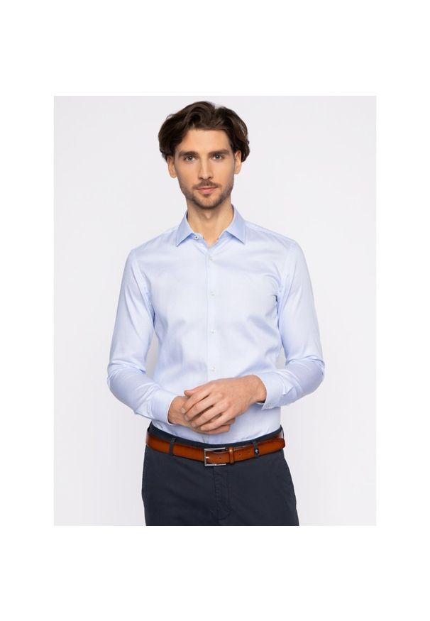 Niebieska koszula BOSS