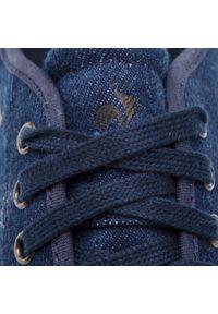 Niebieskie półbuty Le Coq Sportif eleganckie, na co dzień, z cholewką