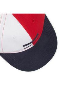 Biała czapka z daszkiem TOMMY HILFIGER