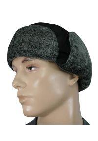Czarna czapka elegancka, na zimę