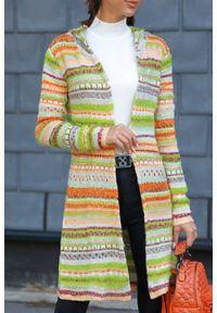Wielokolorowy sweter IVET na zimę, do kolan