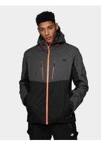 Czarna kurtka narciarska 4f Dermizax, na zimę