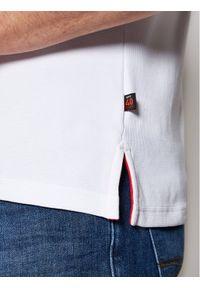 Musto Polo Sardinia 82015 Biały Regular Fit. Typ kołnierza: polo. Kolor: biały #2