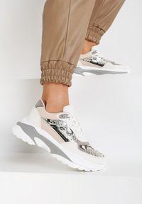 Białe buty sportowe Renee