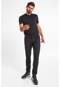 Emporio Armani - T-SHIRT EMPORIO ARMANI. Długość rękawa: krótki rękaw. Długość: krótkie. Wzór: aplikacja #4