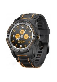 Czarny zegarek MPTECH smartwatch