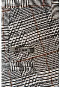 medicine - Medicine - Spodnie Smart Up. Okazja: na co dzień. Kolor: szary. Materiał: tkanina. Styl: casual