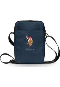 "U.S. Polo Assn - Torba U.S. Polo ASSN US Polo Torba USTB8PUGFLNV 8"" granatowa /navy. Kolor: niebieski"