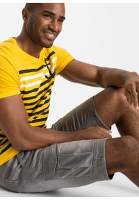 Bermudy dżinsowe ze stretchem Regular Fit bonprix jasnoszary denim. Kolor: szary #6