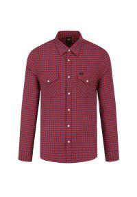 Czerwona koszula casual Lee