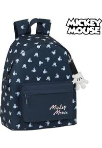 Niebieski plecak z motywem z bajki
