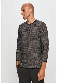 Only & Sons - Sweter. Okazja: na co dzień. Kolor: czarny. Materiał: dzianina. Długość rękawa: długi rękaw. Długość: długie. Styl: casual