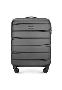 Szara walizka Wittchen biznesowa