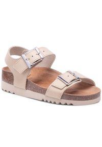 Beżowe sandały Scholl
