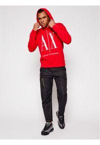 Armani Exchange Bluza 8NZMPC ZJ1ZZ 1400 Czerwony Regular Fit. Kolor: czerwony