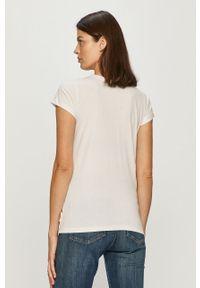 Biała bluzka Femi Stories casualowa, na co dzień, z nadrukiem
