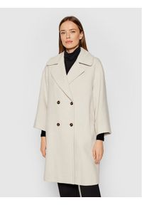 Marella Płaszcz przejściowy Negus 30161218 Beżowy Regular Fit. Kolor: beżowy