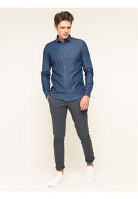Niebieska koszula casual Calvin Klein