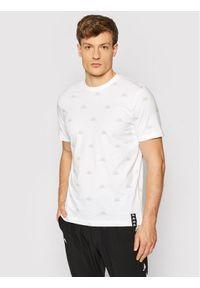 Kappa T-Shirt Izdot 309037 Biały Regular Fit. Kolor: biały