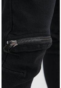 G-Star RAW - G-Star Raw - Jeansy 5620 3D Zip Knee. Kolor: czarny