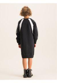 Czarna sukienka Liu Jo Kids prosta, na co dzień