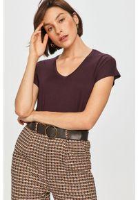 Fioletowa bluzka Answear Lab wakacyjna, na co dzień