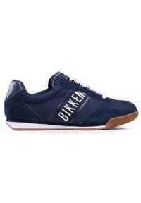 Bikkembergs - Sneakersy BIKKEMBERGS - Enea B4BKM0087 Navy/Navy. Okazja: na co dzień. Kolor: niebieski. Materiał: zamsz, skóra ekologiczna, materiał. Szerokość cholewki: normalna. Styl: casual