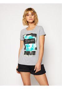 Guess T-Shirt Monia Tee W0BI05 JA900 Szary Regular Fit. Kolor: szary