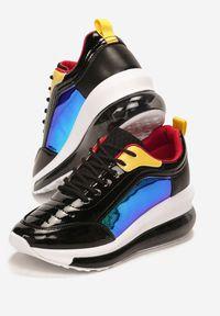 Renee - Czarne Sneakersy Orsenise. Kolor: czarny