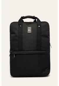 Czarny plecak Lefrik w paski