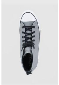 Converse - Trampki. Nosek buta: okrągły. Zapięcie: sznurówki. Kolor: szary