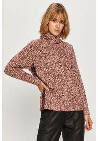Sweter Calvin Klein na co dzień, długi, z długim rękawem