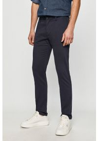 s.Oliver - s. Oliver - Spodnie. Kolor: niebieski. Materiał: tkanina