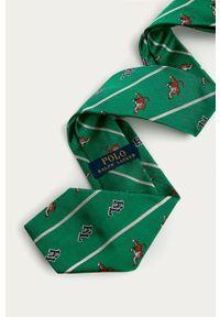 Zielony krawat Polo Ralph Lauren