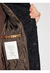 Niebieski płaszcz zimowy Pierre Cardin #6