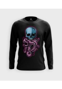 MegaKoszulki - Koszulka męska z dł. rękawem Tentacle Skull. Materiał: bawełna