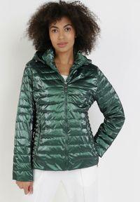 Zielona kurtka przejściowa Born2be #6