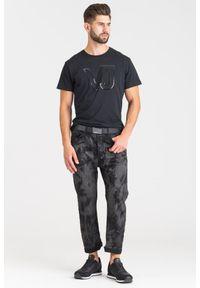 Czarne jeansy Versace Jeans
