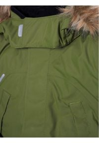 Reima Kurtka puchowa Serkku 531354 Zielony Regular Fit. Kolor: zielony. Materiał: puch